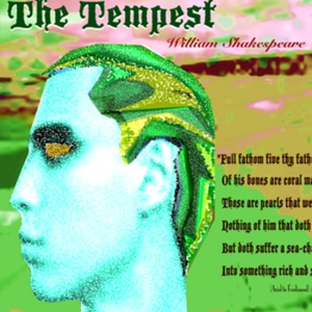 The Tempest Alliteration poster