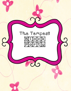 The Tempest Block Party Cards