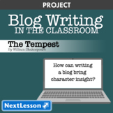 The Tempest: Character Blog Writing - Projects & PBL