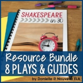 8 Play Bundle - Shakespeare in 30