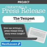 The Tempest: Event Press Release - Projects & PBL