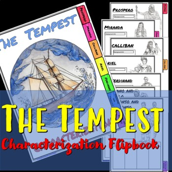 The Tempest Interactive Characterization Flipbook