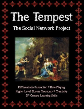 The Tempest Social Network Assignment for Character Analysis