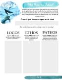 The Tempest - Who owns island? Logos, pathos & ethos activity.