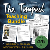 Shakespeare's The Tempest Worksheets, Handouts, Projects