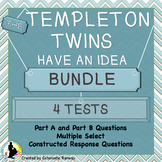 The Templeton Twins Test 1-4 Bundle aligned with Making of