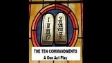 The Ten Commandments - A One Act PowerPoint for Kids