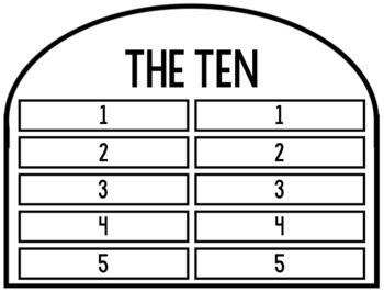 Free! The Ten Commandments Cut/Paste Definition Activity