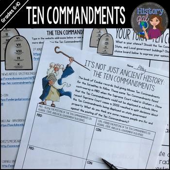 The Ten Commandments: It's Not Just Ancient History!