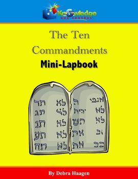 The Ten Commandments Mini-Lapbook