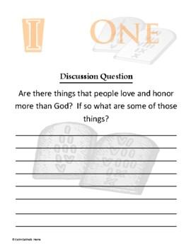The Ten Commandments Packet