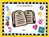 The Ten Commandments Part 1