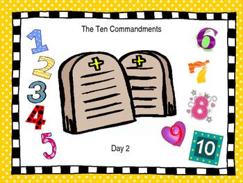 The Ten Commandments Part 2