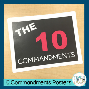 The Ten Commandments Posters