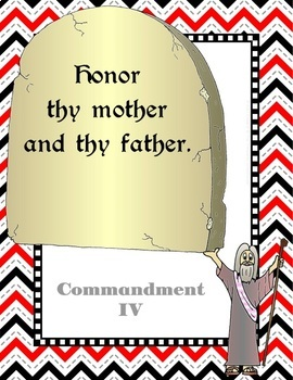 The Ten Commandments Posters - Catholic