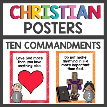 The Ten Commandments for Kids