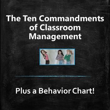 The Ten Commandments of Classroom Management