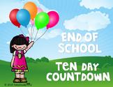 The Ten Day Countdown!