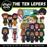 The Ten Lepers Clip Art