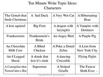 The Ten Minute Write