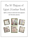 The Ten Plagues of Egypt Number Book