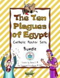 The Ten Plagues of Egypt Poster Sets BUNDLE