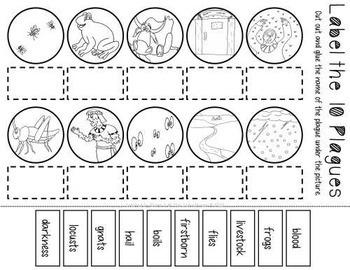 The Ten Plagues of Egypt Worksheet Pack