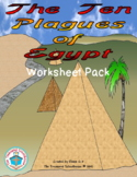 The Ten Plagues of Egypt Worksheet Pack