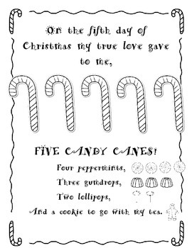 The Ten Sweets of Christmas ( Inspired By The Twelve Days of Christmas)