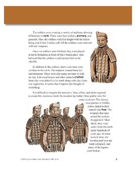 The Terra Cotta Warriors: An Army of Clay