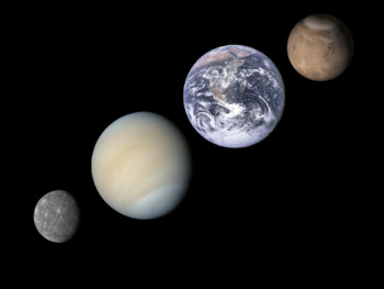 The Terrestrial Planets Bundle