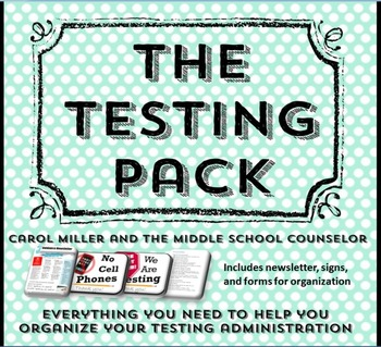 The Testing Organization and Administration Pack
