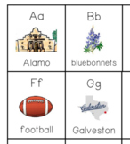 The Texas Alphabet