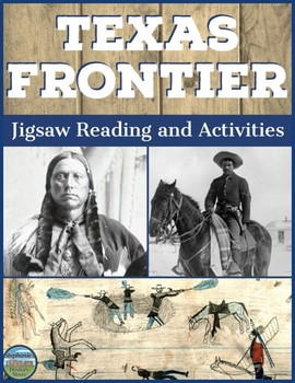 The Texas Frontier Jigsaw and Activities
