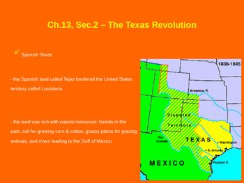 Map Of Texas Revolution.The Texas Revolution Battle Of The Alamo Goliad San Jacinto By