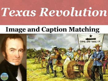 The Texas Revolution Primary Source Image Activity