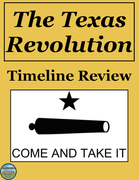 The Texas Revolution Timeline Review