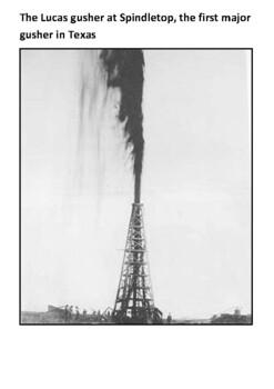 The Texas oil boom Handout