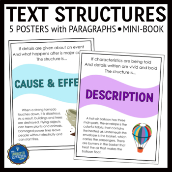 Text Structures Posters