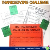 The Thanksgiving Challenge