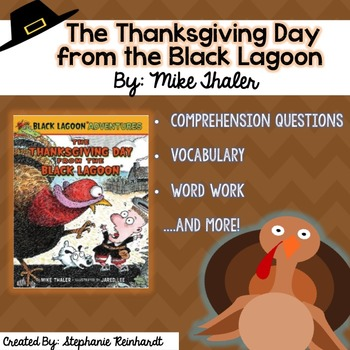 The Thanksgiving Day from the Black Lagoon Comprehension Packet