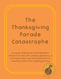 The Thanksgiving Parade Catastrophe CCSS Reader's Theater
