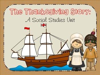 The Thanksgiving Story: A Social Studies Unit