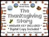 The Thanksgiving Story (Alice Dalgliesh) Book Study / Comprehension  (17 pages)