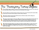 The Thanksgiving Turkey Disguise -Writing a Set of Directi