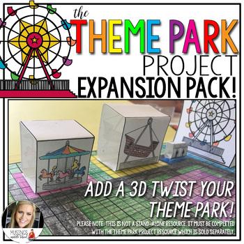 The Theme Park Project: 3D Expansion Pack