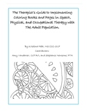 The Therapist's Guide to Implementing Coloring Books and Pages with Adults