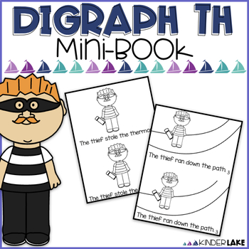 The Thief - Digraph th - mini book