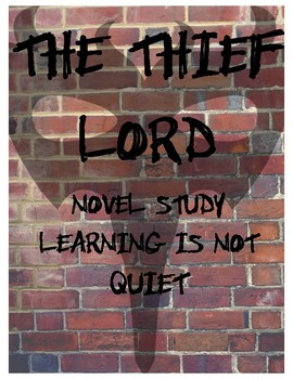 The Thief Lord Book Club (Guide, Response Dice, Writing Project, Vocabulary)