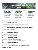 The Thief of Always by Clive Barker Final Test Vocab, Multiple choice & Essay